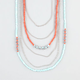 FULL TILT Multi Strand Bead/Chain Necklace