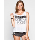 FULL TILT Haters Womens Muscle Tank