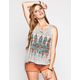 FULL TILT Feather Womens Muscle Tank