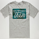 US VERSUS THEM Palm Magnum Mens T-Shirt