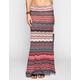 FULL TILT Wave Print Maxi Skirt