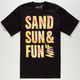 NEFF Sand Sun Fun Mens T-Shirt