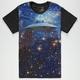 BLUE CROWN Outta Space Mens T-Shirt