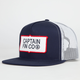 CAPTAIN FIN Workers Mens Trucker Hat