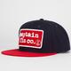 CAPTAIN FIN Patch Mens Snapback Hat