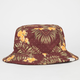 LIRA Floral Print Mens Reversible Bucket Hat