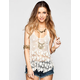 BREEZE EVER Womens Daisy Crochet Tank
