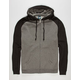 STANDARD SUPPLY Mens Raglan Zip Hoodie