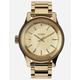 NIXON Facet Gold Watch