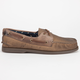 SPERRY Burnished Canvas Authentic Original Mens Boat Shoes