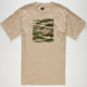 CHOCOLATE Camo Chunk Mens T-Shirt