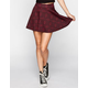 FULL TILT Tribal Print Skater Skirt