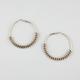 FULL TILT Chain Link Hoop Earrings