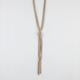FULL TILT Multi Chain Fringe Necklace