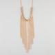 FULL TILT Fringe Chain Link Necklace