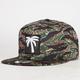 BLVD Camo Palm Mens Strapback Hat