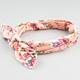 FULL TILT Floral Print Bow Knot Headband