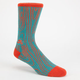 NIKE SB Woodgrain Dri-FIT Mens Crew Socks