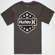 HURLEY 10 Star Mens T-Shirt