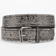 Floral Print Faux Leather Belt