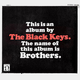 THE BLACK KEYS Brothers LP