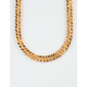 THE GOLD GODS Gold Cuban Link Chain Necklace