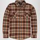 SHOUTHOUSE Hampton Mens Flannel Shirt