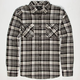 SHOUTHOUSE Grammer Mens Flannel Shirt