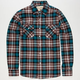 COASTAL Glory Mens Flannel Shirt