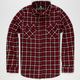 ELIXIR Rooster Mens Flannel Shirt