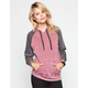 FULL TILT Essential Womens Color Block Hoodie