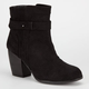 QUPID Maze Womens Booties