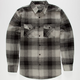 STRAIGHT FADED Tom Mens Flannel Shirt
