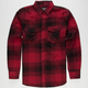 STRAIGHT FADED Billy Mens Flannel Shirt