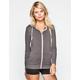 FULL TILT Essential Womens Cozy Zip Front Hoodie