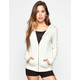 FULL TILT Essential Womens Cozy Zip Front Hoodie