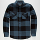 STRAIGHT FADED Jack Mens Flannel Shirt