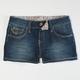 YMI Flap Pocket Girls Denim Shorts