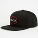 RVCA Badger Mens Snapback Hat