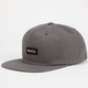 RVCA Pinacle Low Crown Mens Snapback Hat