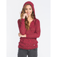 ROXY Warm Heart Womens Hooded Sweater