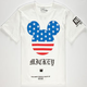 NEFF Disney Collection Mickey Patriot Boys T-Shirt