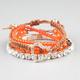 FULL TILT 4 Piece Bead/Woven Bracelets