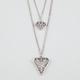 FULL TILT 2 Row Geo Diamond Necklace