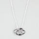 FULL TILT Triple Heart Charm Necklace