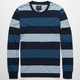 SHOUTHOUSE Block Stripe Mens Thermal