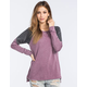 OTHERS FOLLOW Burnout Raglan Womens Sweatshirt