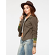 OTHERS FOLLOW Decoy Womens Hooded Twill Jacket