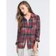 RVCA Jig Womens Flannel Shirt