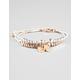 FULL TILT Hamsa Hand/Heart/Bead Cord Bracelet
